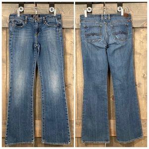 Lucky Brand long inseam sweet n low jeans